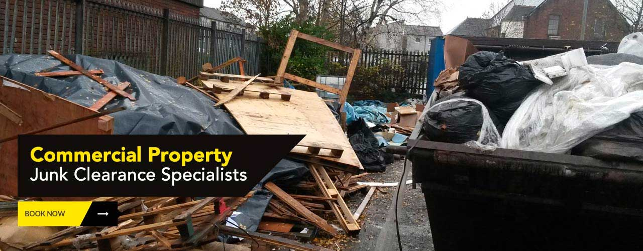 Commercial property premises clearance by Junk-it