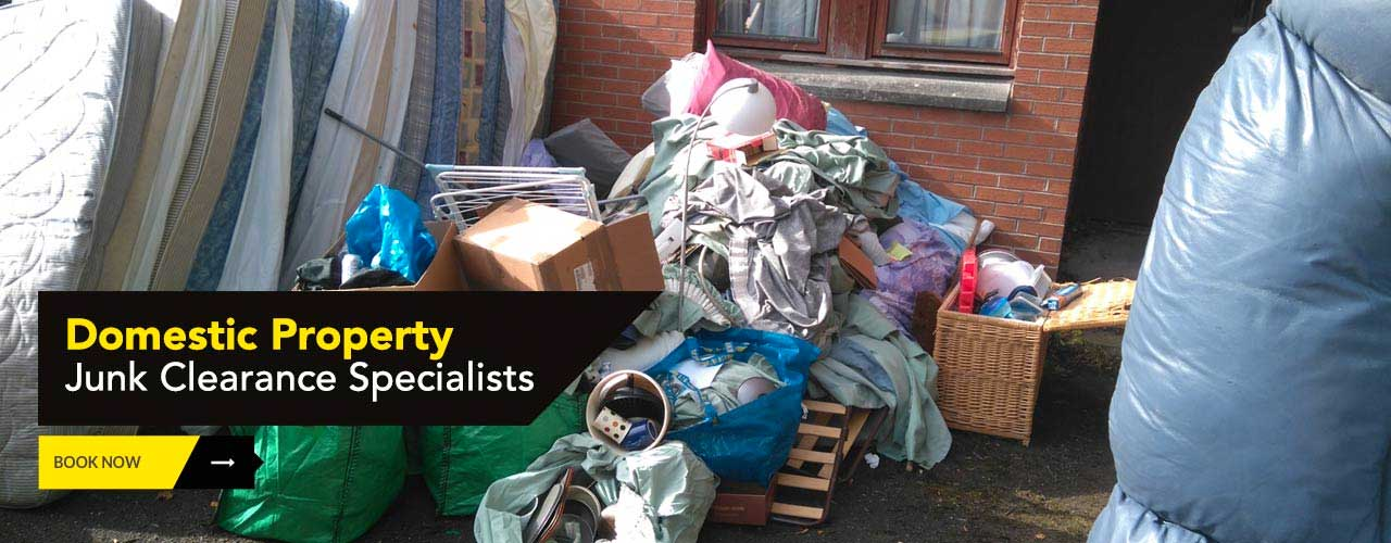 Domestic property premises clearance by Junk-it