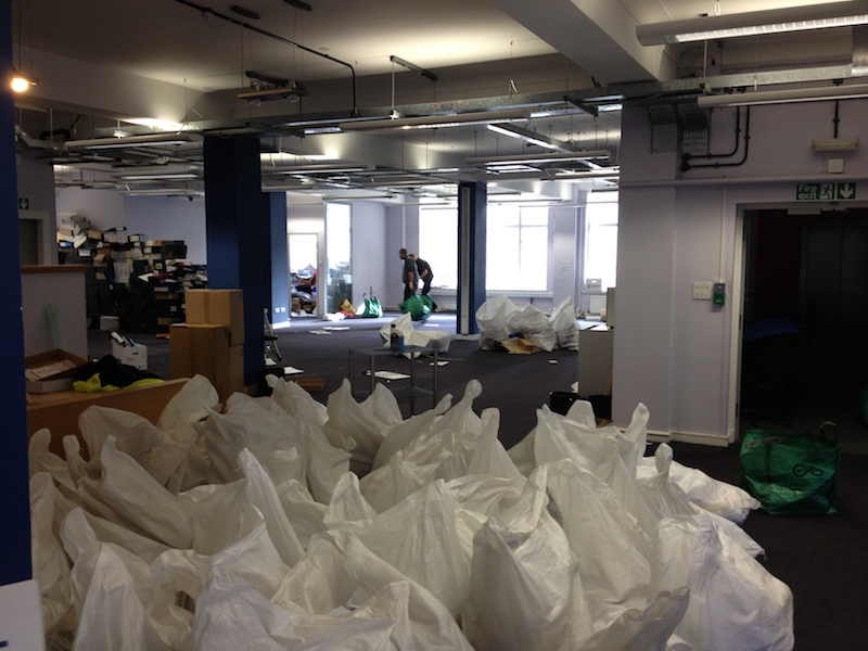 Prince's Trust office junk removal