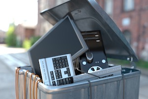 WEEE compliant computer IT equipment recycling Junk-It Scotland