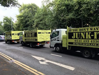 Junk-it vans on the move