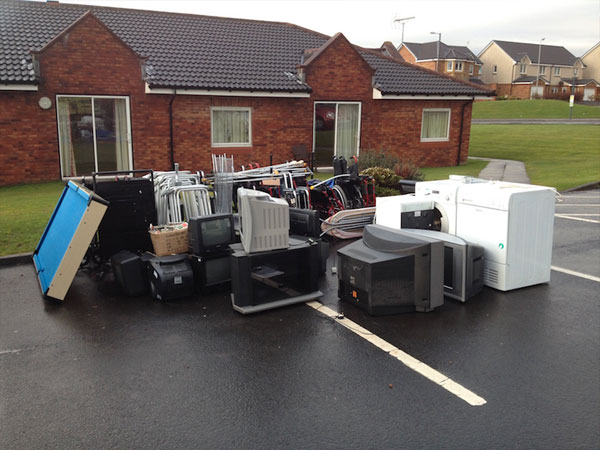 BUPA Home Junk removal