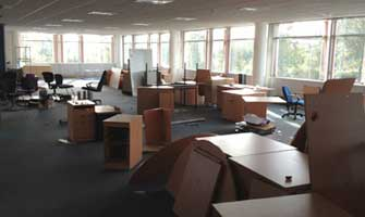 Office Clearance for Chartered Accountants Facilities Manager Braehead